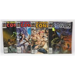 #152-155 CONAN THE BARBARIAN MARVEL COMIC BOOKS