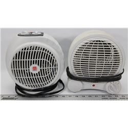 PAIR OF HEATER FANS