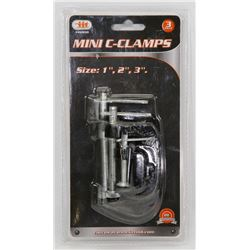 NEW MINI C-CLAMPS