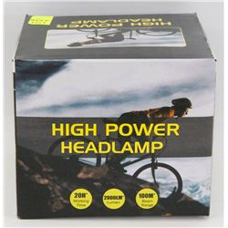 NEW HIGH POWER LED HEADLAMP
