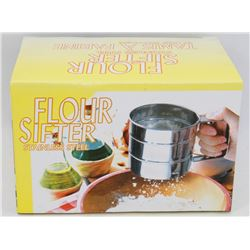 NEW STAINLESS STEEL FLOUR SIFTER