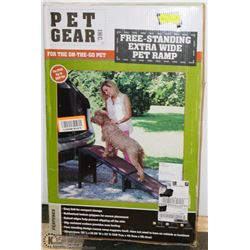 NEW PET RAMP FOR VEHICLES FREE STANDING AND