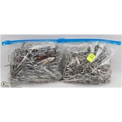 TWO BAGS OF ASSORTED SCISSORS
