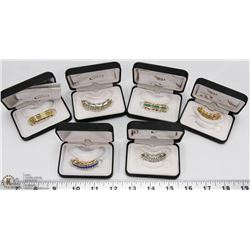 LOT OF 6 BEST GRILLZ MOUTH JEWELRY