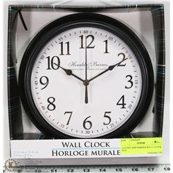 HAROLD AND BARNES WALL CLOCK NEW