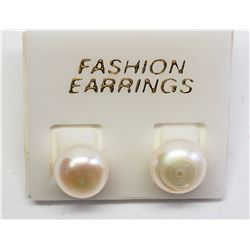 #12-PEARL EARRINGS