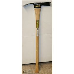 NEW LUDELL CUTTER MATTOCK PICKAXE.