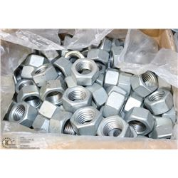 "CASE OF FIN HEX NUT 1"" - 8"