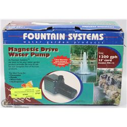 NEW FOUNTAIN SYSTEM WATER GARDEN MAGNET