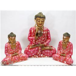 3 PIECE ESTATE SET OF ASIAN DECOR