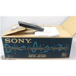 SONY MDS-JE520 MINI DISC PLAYER