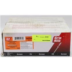 "CASE OF FLOORING SCREWS 2-1/2"" X 8"