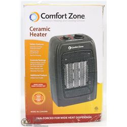 COMFORT ZONE CERAMIC HEATER
