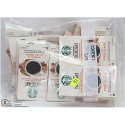 BAG OF ASSORTED STARBUCKS INSTANT COFFEE
