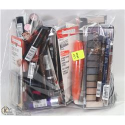 BAG OF ASSORTED RIMMEL MAKEUP