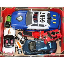TOY CAR FLAT TONKA NHL ETC