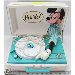 WORKING VINTAGE DISNEY MICKEY MOUSE GENERAL