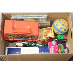 ESTATE BOX OF TOYS AND GAMES