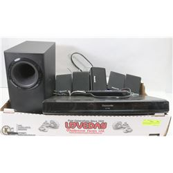 PANASONIC SURROUND SOUND AND DVD PLAYER WITH