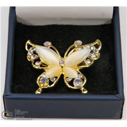 ESTATE BUTTERFLY BROOCH