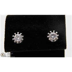GENUINE SWAROVSKI CRYSTAL STUD EARRINGS