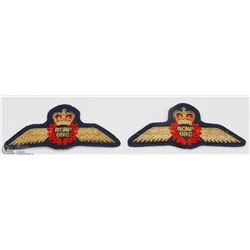 PAIR OF RCMP BADGES