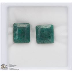 #6-NATURAL GREEN EMERALD LOOSE GEMSTONE 12.5CT