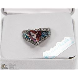INFINITE ROMANCE FASHION  CZ ENGAGEMENT RING