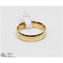 REPLICA LORD OF THE RINGS BAND SZ 12