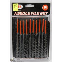 NEW 10PC NEEDLE FILE SET