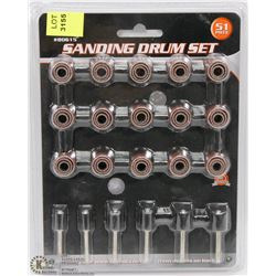 NEW 51PC SANDING DRUM SET