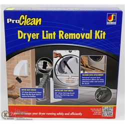 PRO CLEAN 3PC DRYER LINT REMOVAL KIT