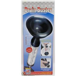 NEW DRAIN BUSTER POWERFUL MULTI-DRAIN PLUNGER