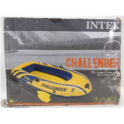 "INTEX CHALLENGER INFLATABLE BOAT ( 7'9"" X 3'9"" )"