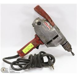 "MILWAUKEE 1/2"" HEAVY DUTY DRILL  ( TOOLS )"