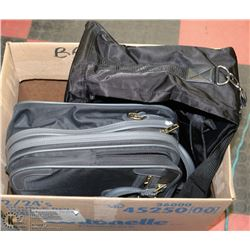 SET OF 2 NEW TRAVEL BAGS INCL SAMSONITE
