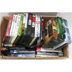 MASSIVE COLLECTION OF TV SERIES ON DVD'S INCL