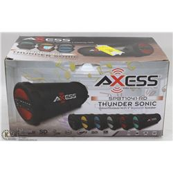 LARGE AXESS THUNDER SONIC BLUETOOTH SPEAKER