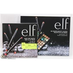 E.L.F. LIP COLOR SET WITH 48 COLOR EYESHADOW