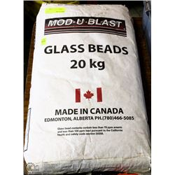 20KG BAG OF MOD-U-BLAST GLASS BEADS