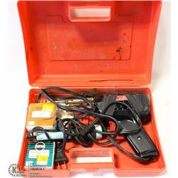 WELLER D-550 SOLDERING GUN WITH CASE AND SOLDER