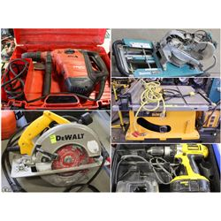 FEATURED ITEMS: USED CONTRACTOR POWER TOOLS