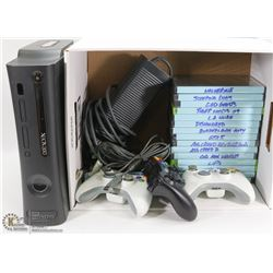 120GB XBOX 360 ELITE, 3 CONTROLLERS, HDMI CABLE,