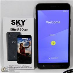 "UNLOCKED SKY DEVICES ELITE 5.5"" ANDROID SMARTPHONE"