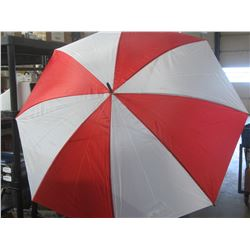 New 30 inch Golf Umbrella / Red & white