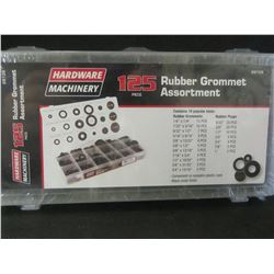 New 125 piece Rubber Gromet Assortment