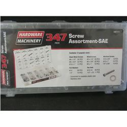 New 347 piece Screw Assortment / SAE.