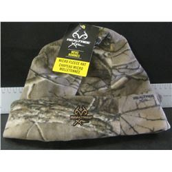New Realtree Micro Fleece Hat / mens
