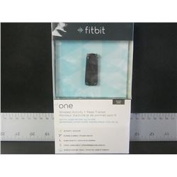 New Fit Bit One  wireless activity + sleep tracker/ black / 275.00 on Amazon