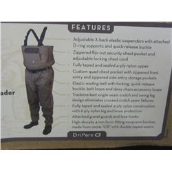 New Frogg Loggs Nylon breathable stockingfoot Wader/ $229.00 price tag